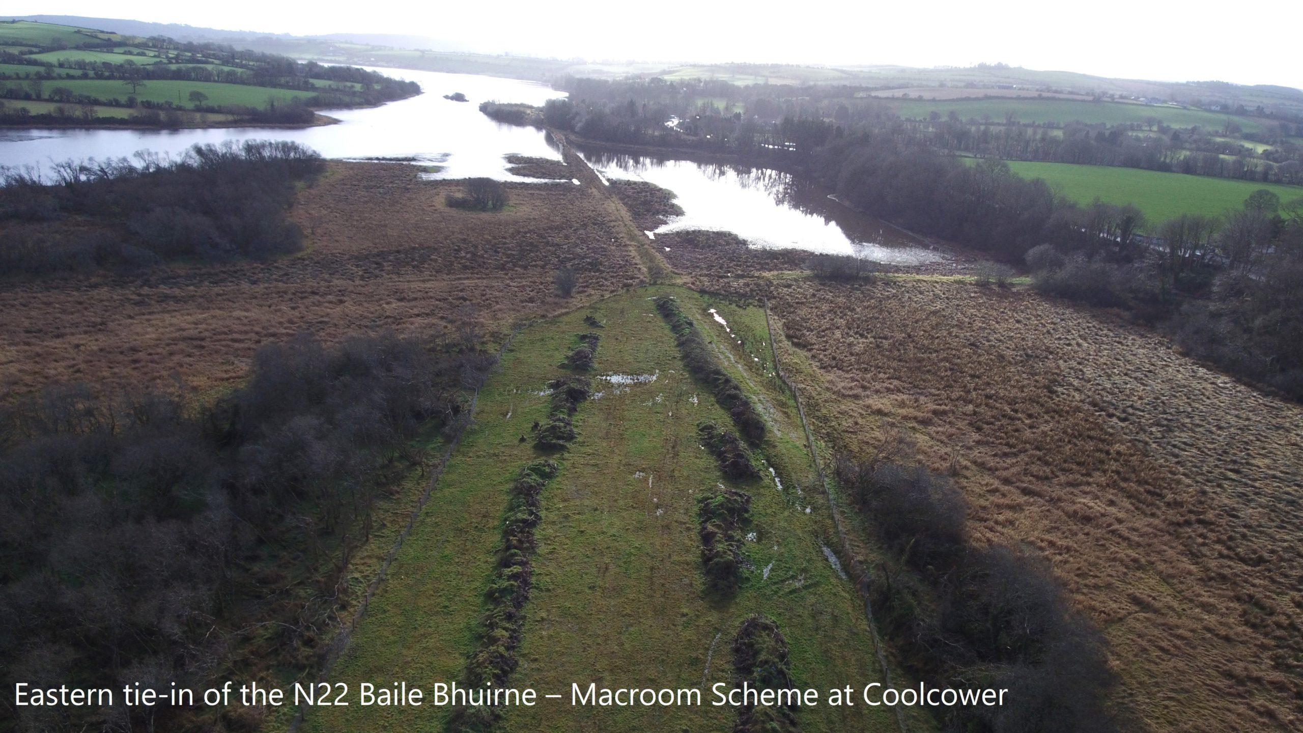 Eastern tie-in of the N22 Baile Bhuirne – Macroom Scheme at Coolcower
