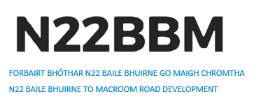N22 Baile Bhuirne to Macroom Road Development