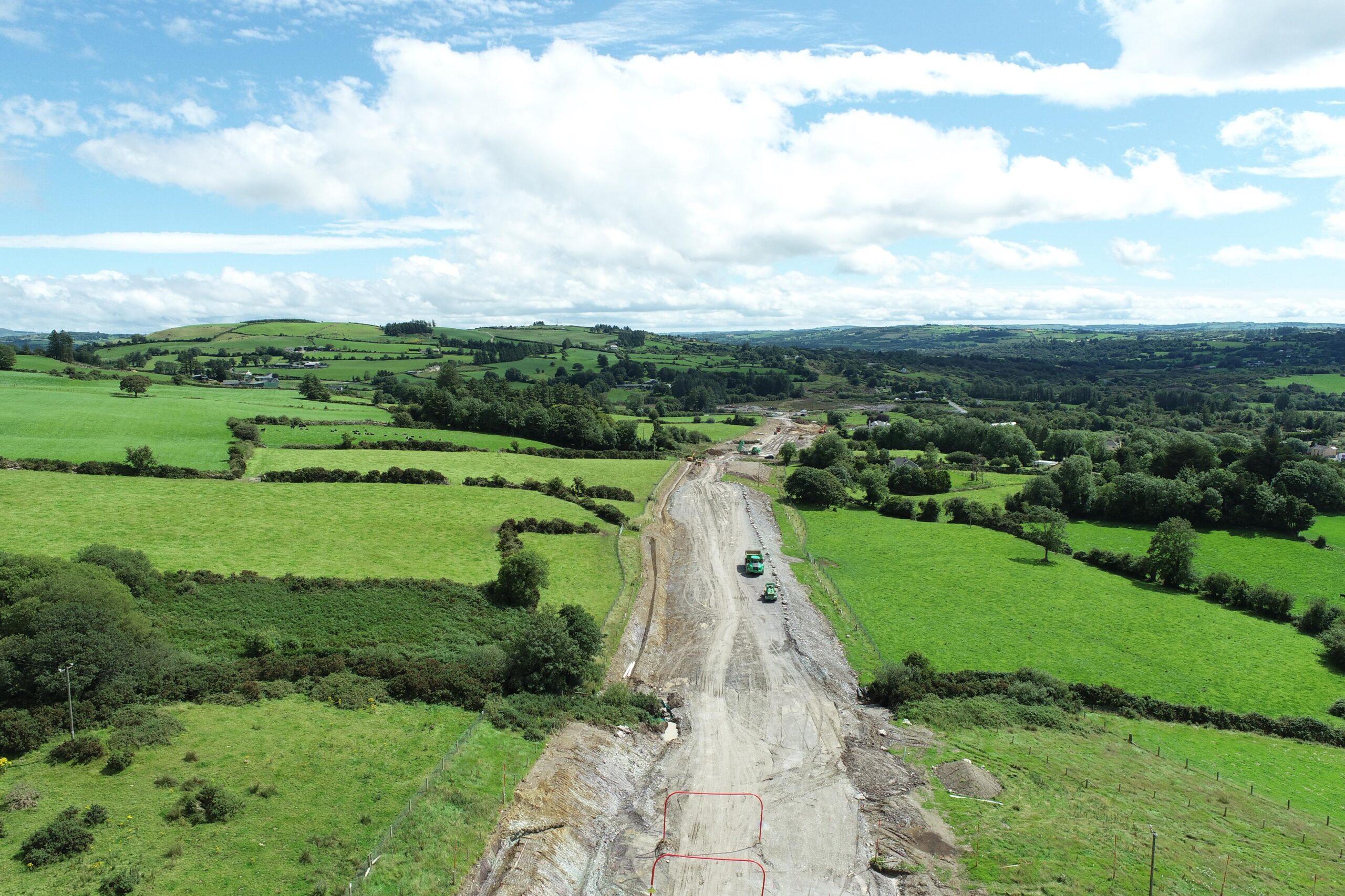 Oibríocht líonta ó thuaidh de Bhaile Mhic Íre, Iúil 2020 - Fill Operation North of Ballymakeera July 2020