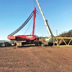 Cranes in preparation 2